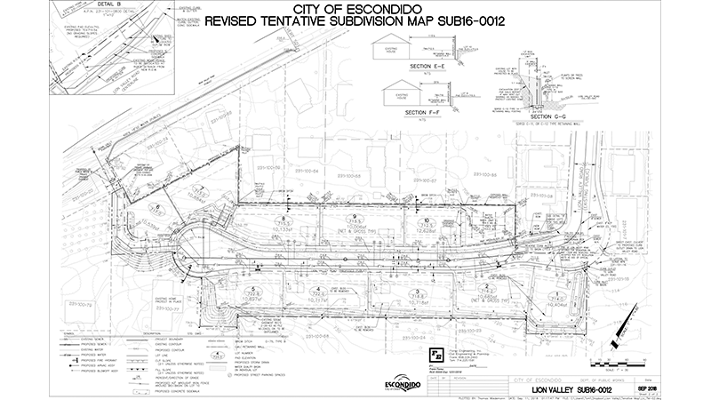 Lion Valley-Sub Division Grading-3 Tentative Map