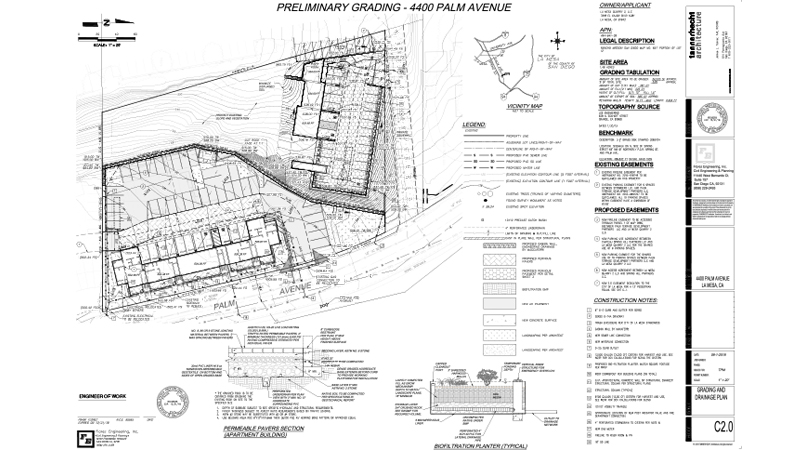 04_Florez Civil Engineering-4400 Palm-Prelim Grading 1